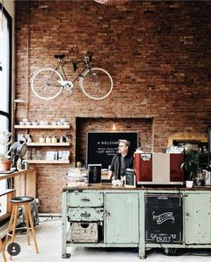 Small coffee shop, starting a coffee shop, coffee shop bar, coffee Starting A Coffee Shop, Small Coffee Shop, Coffee Shop Bar, Coffee Shop Design, Coffee Cafe, Bar A Vin, Café Bar, Bakery Design, Restaurant Design