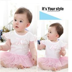 Baby Romper Suit Baby Girl Lace Rompers For Toddlers Bodysuit