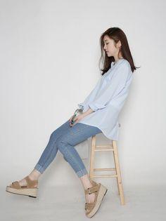 Dress Up Confidence! 66girls.us Espadrille Wedge Sandals (DHGB) #66girls #kstyle #kfashion #koreanfashion #girlsfashion #teenagegirls #younggirlsfashion #fashionablegirls #dailyoutfit #trendylook #globalshopping