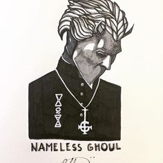Welcome, New Zero! • • #ghost @thebandghost #thenamelessghouls #ghostband #ghostbc #art #papa #papaemaritus #papaemeritusiii #likeme #like4like #likeforlike #follow #following #followme #follow4follow #followforgollow #blog #instagood #blogger