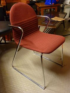 This chair could have been used in the beauty shop.