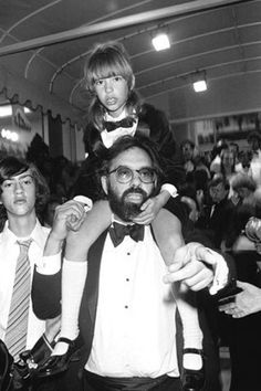 Francis Ford Coppola and daughter Sofia at the Cannes Film Festival