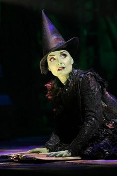 Kerry Ellis (Elphaba) in the Broadway production of Wicked