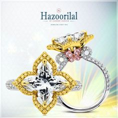 Yellow diamonds: Impurities crafted to perfection. #Hazoorilal #HazoorilalGK #HazoorilalDelhi