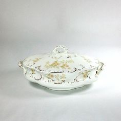 Antique English Serving Dish, Henry Alcock Co. , Cobridge, England