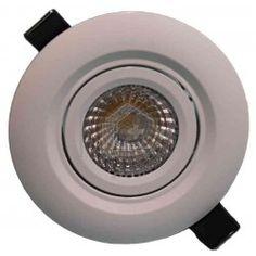 Downlight LED pivotant 12 Watt DIMMABLE 3000 Kelvin