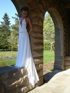 SALE Greek Grecian Goddess Princess Cosplay White by AquaFairytale, $100.00