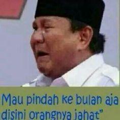 Prabowo nangis
