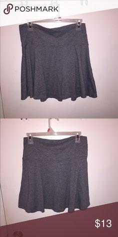 Grey skirt Grey skirt. Skirts Midi
