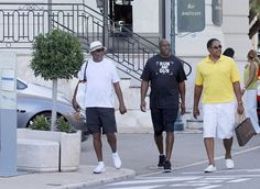 Magic Johnson, Samuel L. Jackson and Dave Dave Winfield continue their vacation in Monte Carlo.