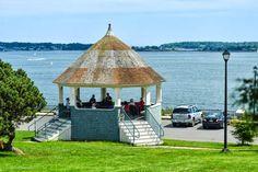 Portland Daily Photo by Corey Templeton: The Fort Allen Park Gazebo