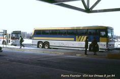 1984 VIA bus in Ottawa