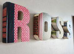 Desired: Anthropologie Library Letters