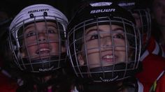 Local youth hockey players join Blackhawks on the ice Youth Hockey, Chicago Blackhawks, Hockey Players, Football Helmets, Join, Ice, Ice Cream