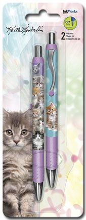 Keith Kimberlin Kittens - Gel Pen - 2pk