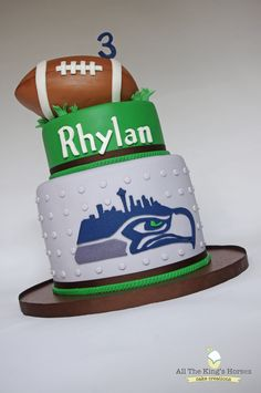 Baby Boy 1st Birthday, Football Birthday, Boy Birthday Parties, Birthday Ideas, Wedding Anniversary Cakes, Sport Cakes, Baking Business, Cupcake Cookies, Cupcakes