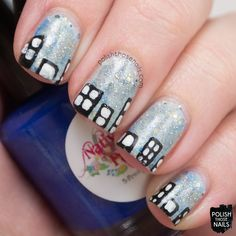 Polish Those Nails: Twinsie Tuesday - Inspired By A City  Inspired by laughpaintcreate