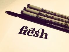 Fresh-dribbble art pens | My Birthday present to myself. *sshhhh* I might get this a few weeks before Sept28 #libra