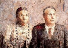 Sinforoso y Josefa. 1955. Obra de Antonio López García