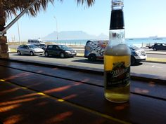 Pakalolo Beach Bar in Table View, Western Cape December Holidays, Beach Bars, Cape Town, Four Square, Bottle, Table, Flask, Tables, Desk