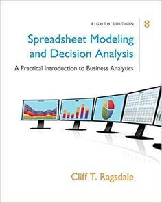 Test bank for college accounting a practical approach 13th spreadsheet modeling and decision analysis a practical introduction to business analytics 8th edition ragsdale solutions manual fandeluxe Gallery