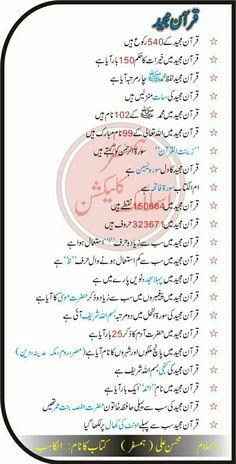 Islamic qurani maloomat in urdu Urdu Quotes Islamic, Islamic Phrases, Islamic Messages, Islamic Posters, Hadith Quotes, Imam Ali Quotes, Qoutes, Islamic Knowledge In Urdu, Islamic Teachings