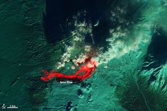 Activity at Tolbachik Volcano, from the veins of the earth
