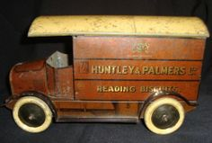 Old Vintage Huntley Palmer Biscuit Tin Truck from England 1930 Very Very RARE | eBay