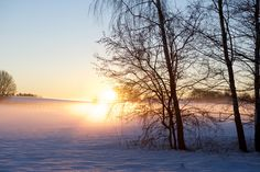 Photographer Pernille Westh | A winter sunrise in Denmark, Scandinavia · Get my 7 FREE basic photography tips - you need to know! http://pw5383.wixsite.com/free-photo-tips