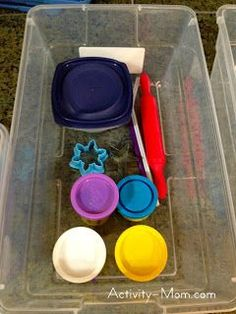 toddler activities, busy boxes