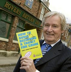 William Roache, who plays Coronation Street's Ken Barlow, helps launch the Force's latest crime reduction publication.     He is pictured outside the Rovers Return, where his character has been a regular since 1960.    William is a long serving patron of Crimestoppers, the charity dedicated to reducing crime.  You can contact Crimestoppers anonymously with information about crime on 0800 555 111.  www.crimestoppers-uk.org