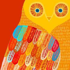 Owl by+zukzuk