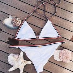 sport triangle bikini top adjustable bikini bottoms elastic halter halter swim top bathing suit. Save an extra 20% OFF Plus Free Shipping $60+ Christmas Sale