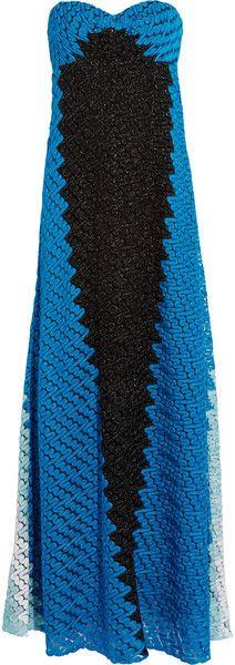 Missoni ~ Strapless Crochetknit Gown♥✤ | Keep the Smiling | BeStayBeautiful