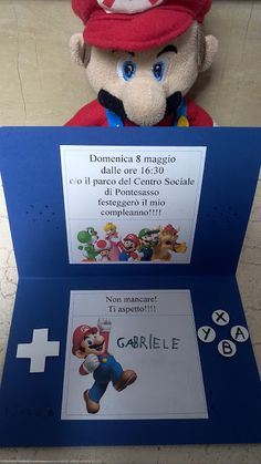 Betta Scrap: Inviti con Super Mario!