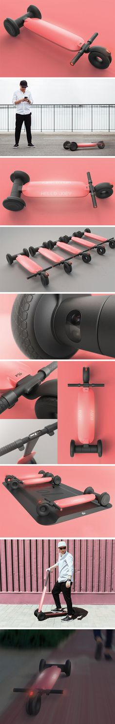 ROL completely transforms the user experience by removing the scooters reliance on manual intervention completely This has been achieved by autonomizing the scooters ecos. Electric Skateboard, Electric Scooter, Scooter Design, Future Gadgets, Drift Trike, Id Design, Kick Scooter, Mode Of Transport, Cool Inventions
