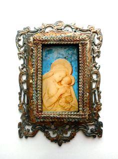 Mothers Day Blessed Mother baby Jesus by CrossMyArtByLynnWebb