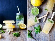 Murmures: Limonade & Popsicles // Agrumes et Fleur d'oranger !      Citrus and Orange Flower Popsicles