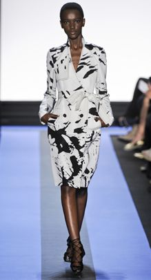 Monique Lhuillier, spring 2012 runway. Photo from style.com. #Fashion #Runway