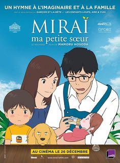 Mirai no Mirai poster, t-shirt, mouse pad Film Anime, Anime Dvd, Otaku Anime, Anime Manga, Beau Film, Cannes Cinema, Studio Ghibli Films, Rite De Passage, Miyazaki