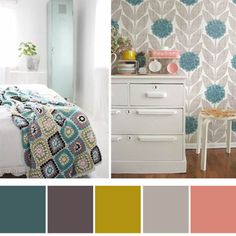 possibly use these colors to decorate my new room :)
