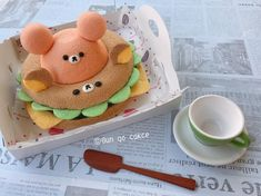 Instagram 上的 Bun Go Cake:「 Burger 今天的午餐🍔😋 #foodnetwork #foodart #foodinstagram #foodfotography #foodshare #foodphoto #fooddiary #foodjournal #foodporn #食べ物… 」 Cute Food, I Love Food, Egg Cake, Chiffon Cake, Pastry Shop, Japanese Sweets, Cute Cakes, Cakes And More, Creative Food