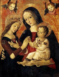 Pinturicchio, The Mystical Marriage of St Catherine. via · Bernardino di Betto, called Pintoricchio or Pinturicchio.1454–1513.