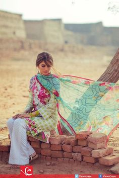 Syra Yousuf for Zara Shahjahan Lawn Collection 2016