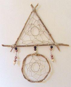 Geometric Dreamcatcher | Made by Alex Behn on Etsy diy boho dreamcatcher, geometr dreamcatch, alex o'loughlin, dream catcher