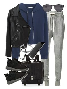 """Untitled #18719"" by florencia95 ❤ liked on Polyvore featuring James Perse, MANGO, Proenza Schouler, Acne Studios, Christian Dior, NIKE and David Yurman"