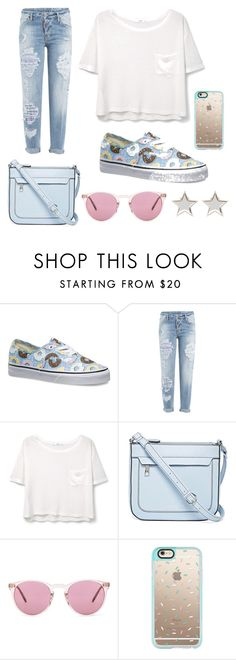 """""""Casual"""" by ya-konstandina ❤ liked on Polyvore featuring Vans, Dsquared2, MANGO, Liz Claiborne, Oliver Peoples, Casetify and Givenchy"""