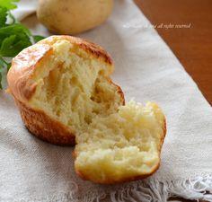 Muffin patate e formaggio salati,soffici e deliziosi