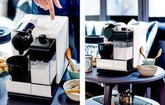Hora do café. Hora de novidade! ☕☕ #nespresso #latissima #tech #gourmet #coffee 