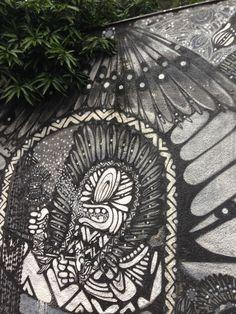 Referência de cor e textura - Graffite Ninguém Dorme - Vila Madalena